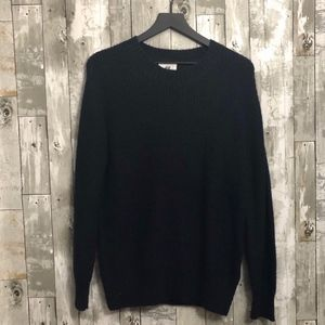 H&M Divided Cable Knit Crewneck Sweater Medium